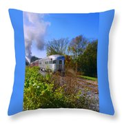 There Is Always An End Throw Pillow
