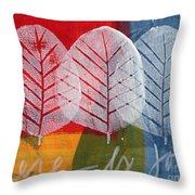 There Is Joy Throw Pillow