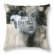 There Is No Going Back Throw Pillow