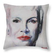 There Must Be An Angel Throw Pillow