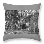 There Was Joy In This House Throw Pillow