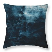 There When I Need You- Abstract Art By Linda Woods Throw Pillow