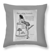 there's a Call for...Natalie Throw Pillow