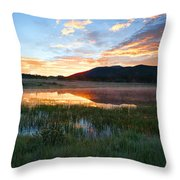 There's A Song In The Air Throw Pillow