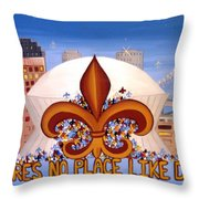 There's No Place Like Dome Throw Pillow
