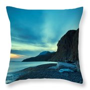 Therma Area, Kos Island, Greece Throw Pillow