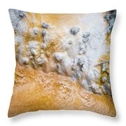 Thermal Pools V Throw Pillow