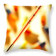 Thermometer Whigh Fever Throw Pillow