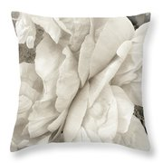 These Flowers Will Never Fade Throw Pillow