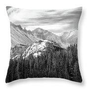 These Mountains Throw Pillow