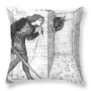 Theseus Throw Pillow
