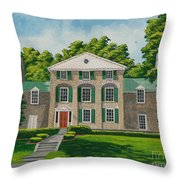 Theta Chi Throw Pillow by Charlotte Blanchard