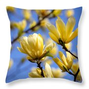 They Also Come In Yellow Throw Pillow