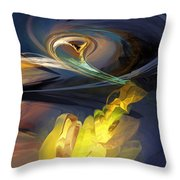 They Are Out There Throw Pillow