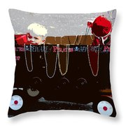 They Be Pirates Throw Pillow