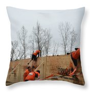 They Call It The Berlin Walls Throw Pillow