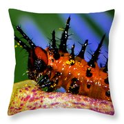 They Call Me Spike 003 Throw Pillow