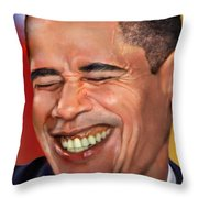 They Called Me Mr. President 1 Throw Pillow