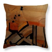 They Came From Afar Throw Pillow