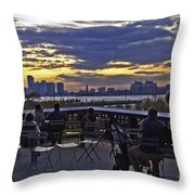 They Came To Look Throw Pillow