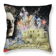 They Dreamed Of Texas Throw Pillow