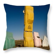They Have Landed Throw Pillow