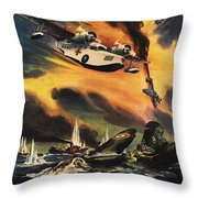 They They May Live To Fight Again Throw Pillow