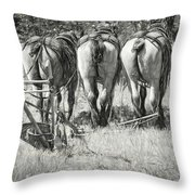 They Wait Throw Pillow