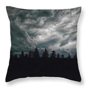 They're Coming Throw Pillow