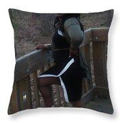 Thic B 4 Throw Pillow