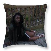 Thic B 5  Throw Pillow