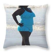 Thick Beach 14 Throw Pillow