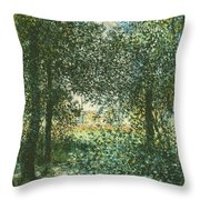 Thicket  The House Of Argenteuil Throw Pillow
