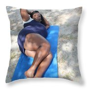 Thickness 3 Throw Pillow
