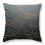 Thin Dusk    Throw Pillow