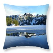 Thin Ice Throw Pillow