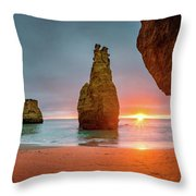 Thin Line Throw Pillow by Dmytro Korol