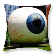 Things Are Big In Dallas Throw Pillow