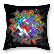 Things In The Night Throw Pillow