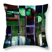 Things Mechanical Throw Pillow