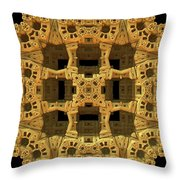 Thinking Inside The Box Throw Pillow
