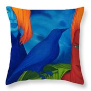 Thinkng Abaut Separation. Throw Pillow