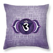Third Eye Chakra - Awareness Throw Pillow