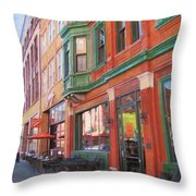 Third Ward - Swig And Palm Throw Pillow