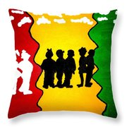 Thirdworld Kids Throw Pillow