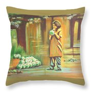 Thirst Quenched Throw Pillow