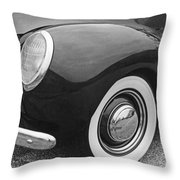 Thirties Ford Throw Pillow
