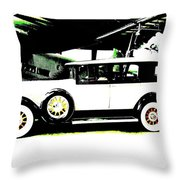 Thirties Packard Limo Throw Pillow
