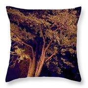 This Difficult Tree Throw Pillow
