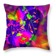 This Hearts For You Throw Pillow